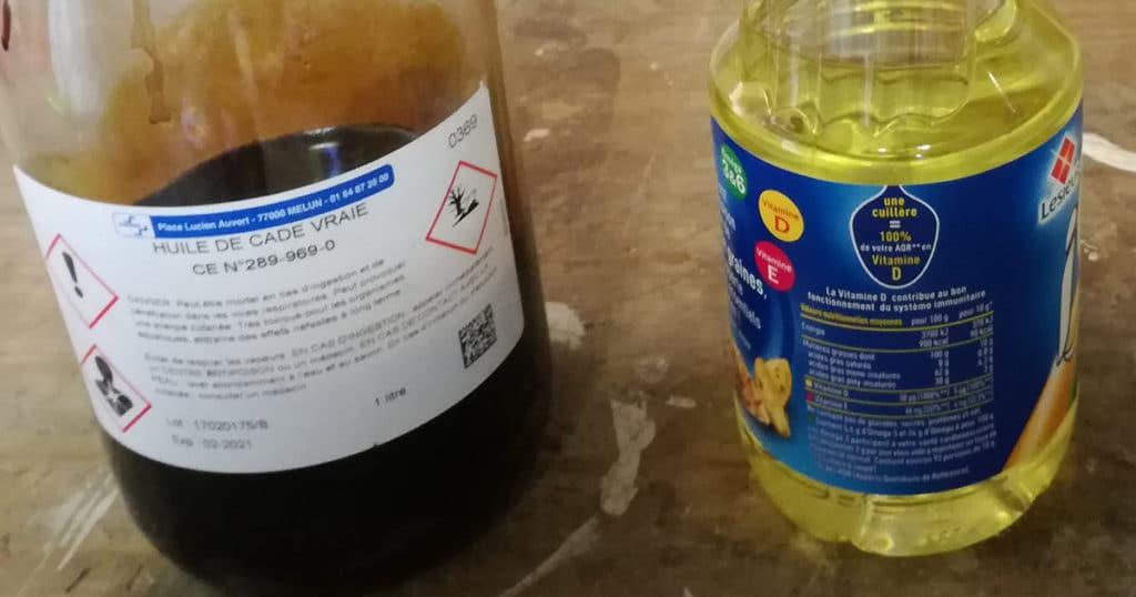 huile de cade