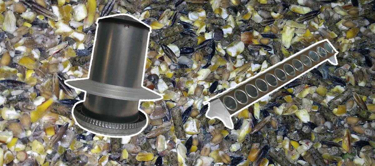 mangeoire galvanisee 1200x533 - Les mangeoires en métal