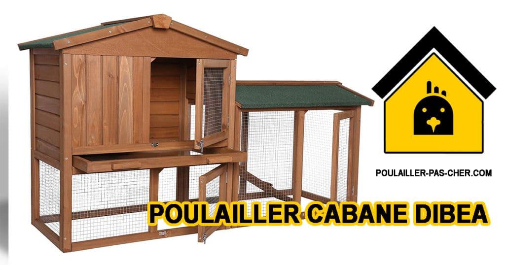 POULAILLER cabane dibea