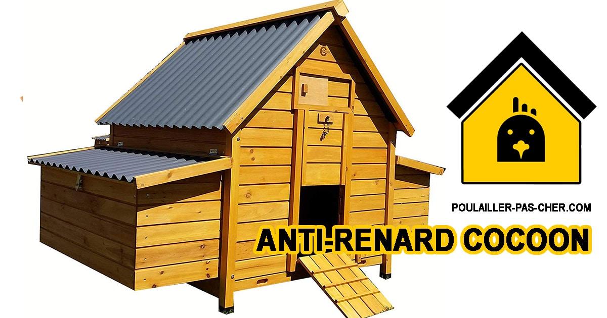 anti renard cocoon - Poulailler anti-renard Cocoon