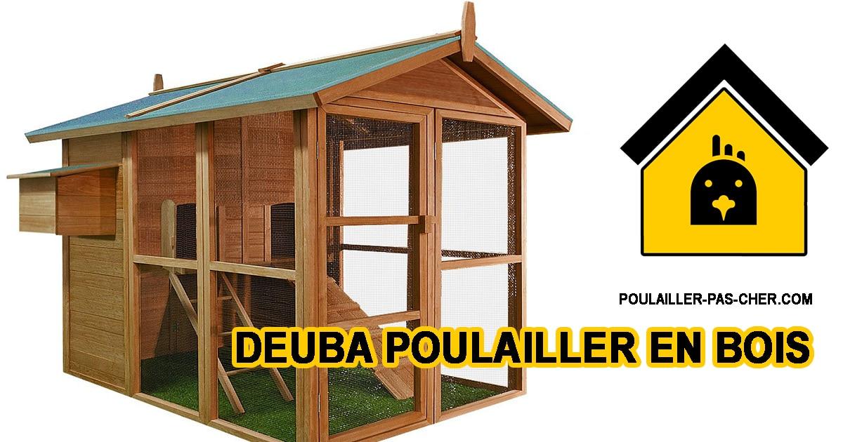 deuba bois B07PQKKKZT - Le poulailler en bois de Deuba