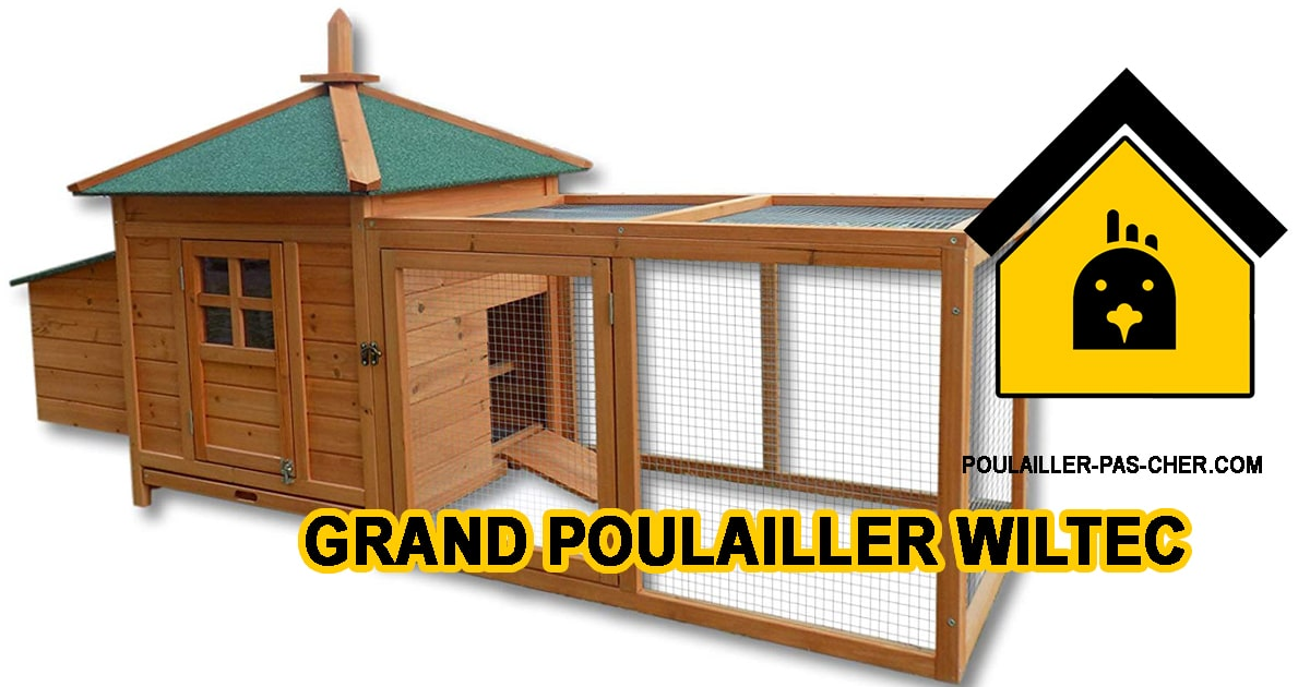 Grand WilTec Poulailler