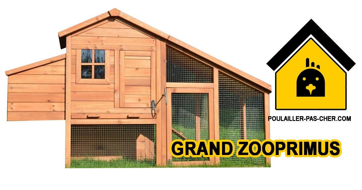 grand zooprimus - Le poulailler grand format de Zooprimus