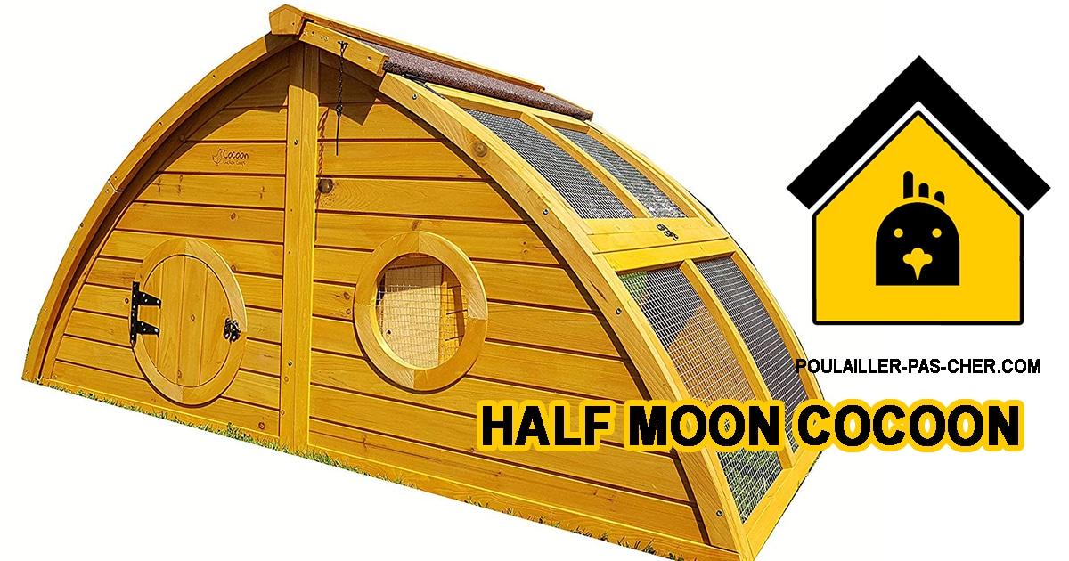 Le poulailler half moon de Cocoon