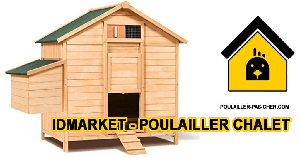 poulailler chalet B07RML3TBN
