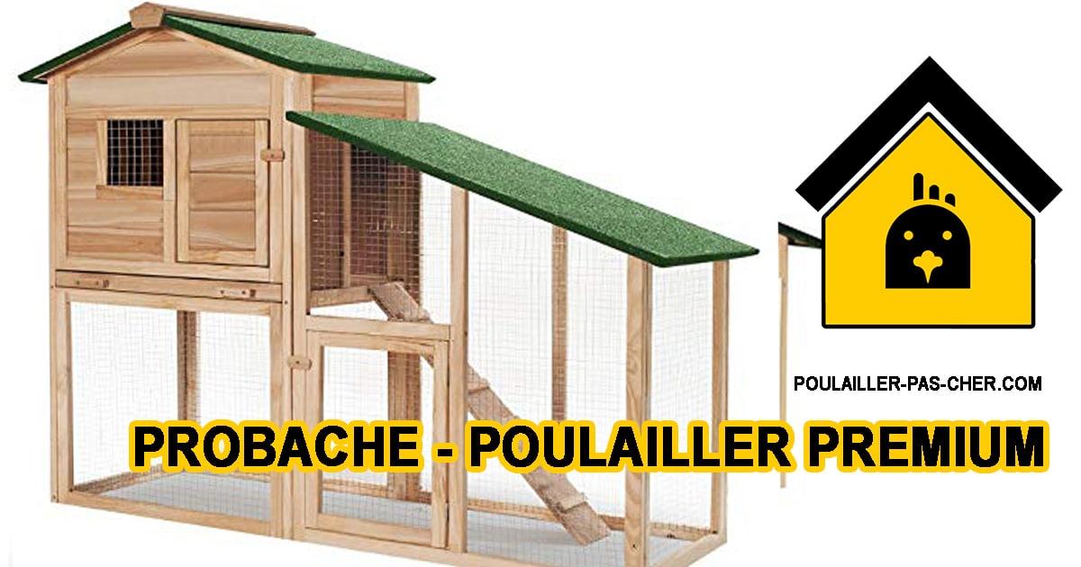 Probache – Poulailler Premium Bois