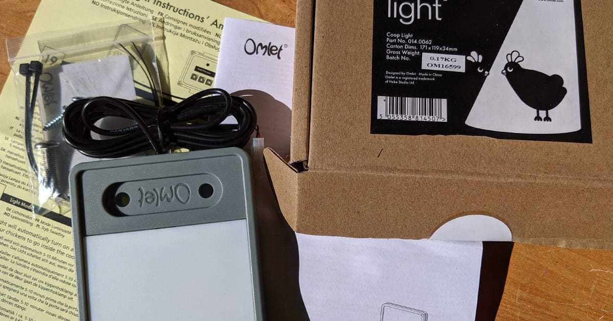 Porte de poulailler automatique Coop Light - La conception des produits